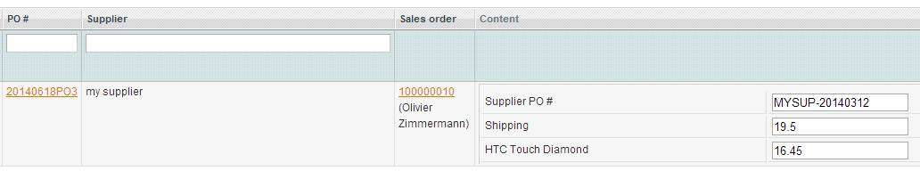 Magento Dropshipping Extension supplier confirmation