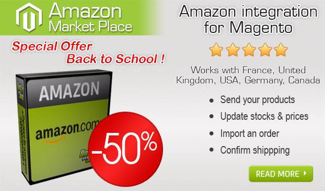 Promotion Amazon for Magento
