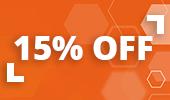 Magento offer 15%