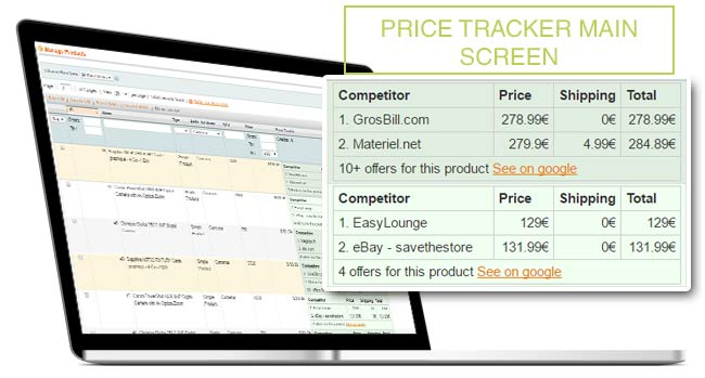 Popup installation Price Tracker