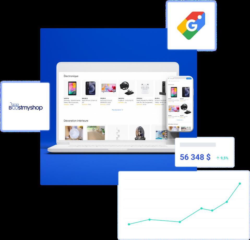 Partenariat Google Boostmyshop